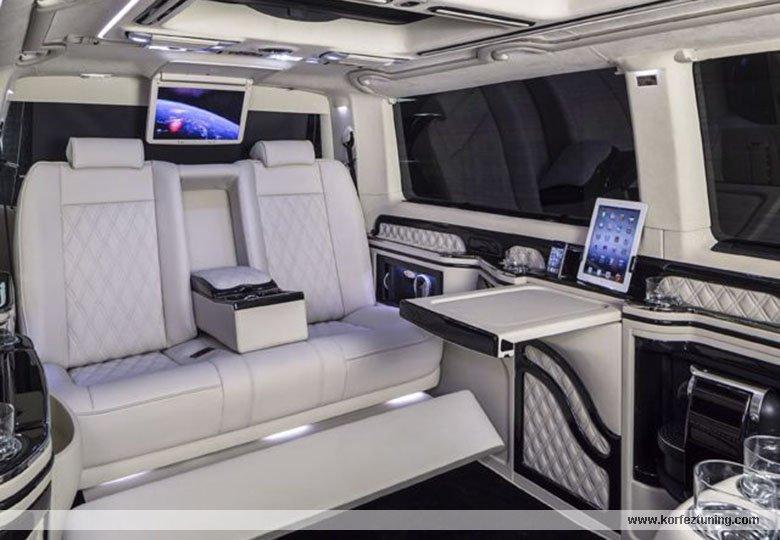 Mtm Modifiyeli Vip Volkswagen Transporter resimleri 3