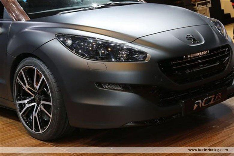 Peugeot RCz ye fuar modifiyesi