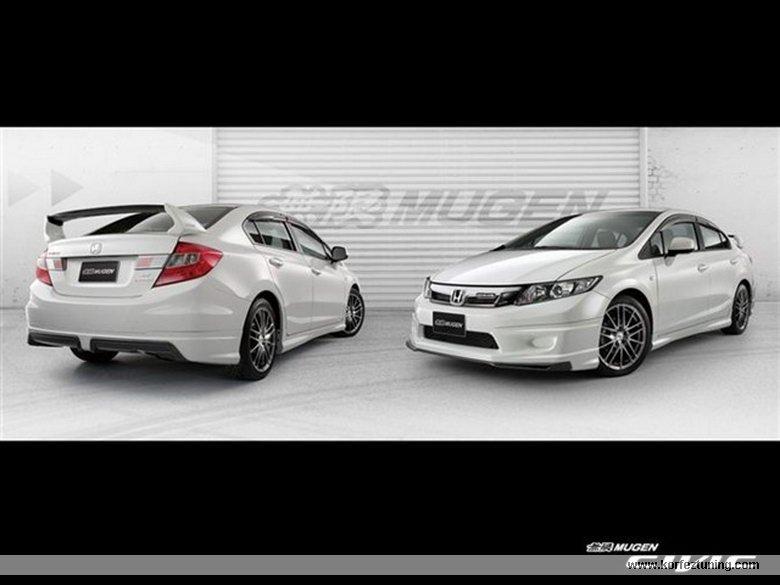 Mugen Modifiyeli Honda Civic