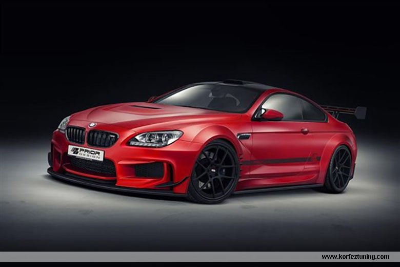 2013 BMW M6 Prior Design Modifiye