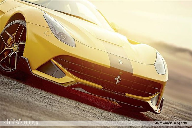 DMC Modifiyeli Ferrari F12 Berlinetta