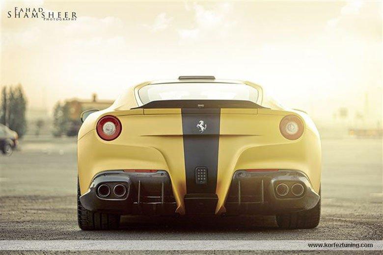 DMC Modifiyeli Ferrari F12 Berlinetta