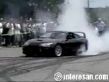 Toyota Supra Drift Show