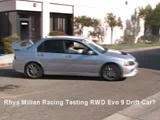 Mitsubishi Evo VIII Drift Show