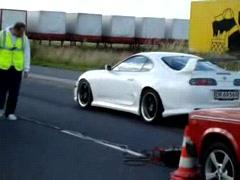 Skyline GTR vs Toyota Supra