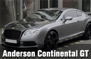 Anderson Modifiyeli Bentley Continental GT