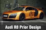 Prior Design Modifiyeli Audi R8 GT850