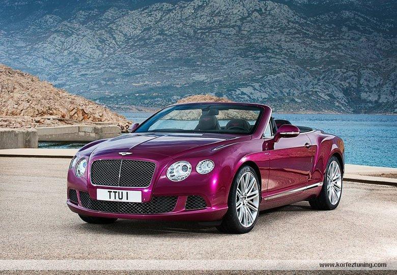 Bentley Continental GT Speed Convertible 2014