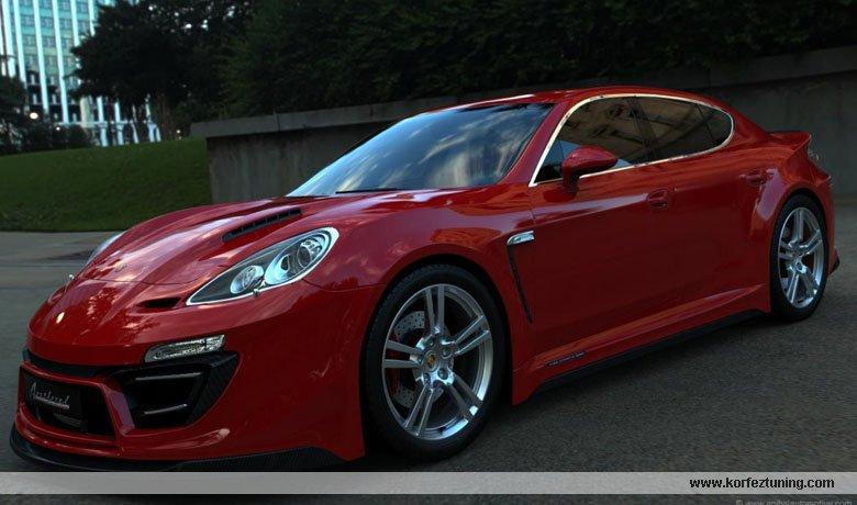 Anibal Modifiyeli Posrche Panamera GT