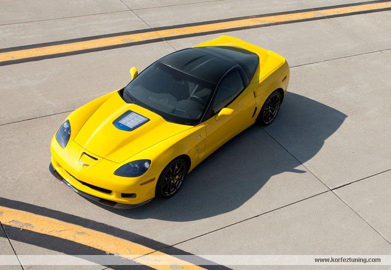 Modifiyeli Chavrollet Corvette Zr1