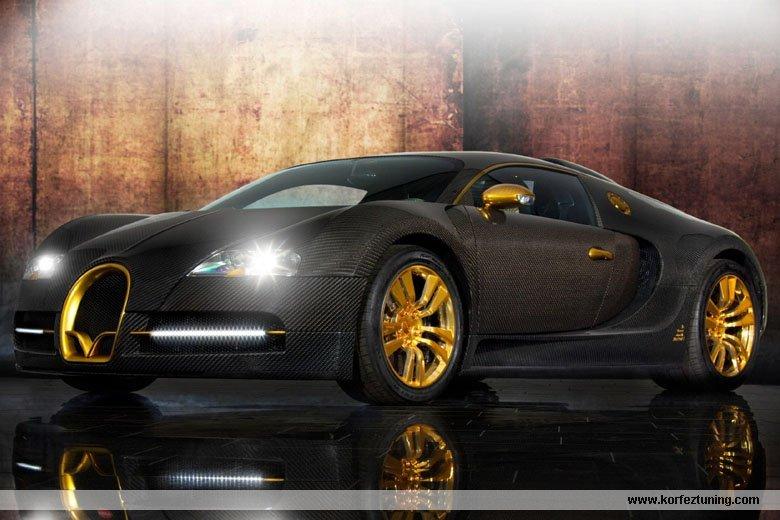 Mansory Modifiyeli Bugatti Veyron