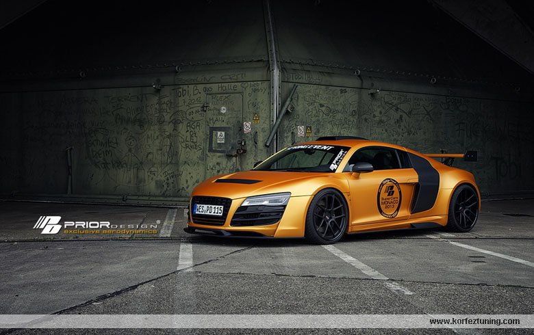 Prior Design Modifiyeli Audi R8 GT850