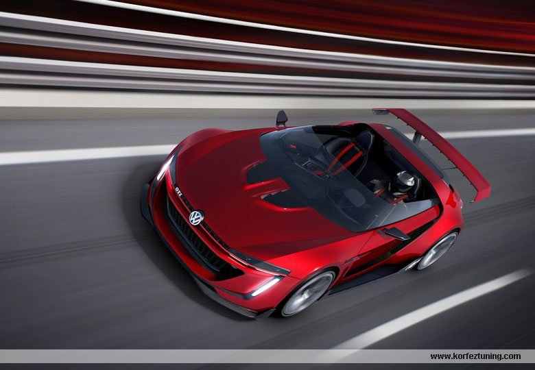 Wolkswagen GTI Roadster Concept 2014