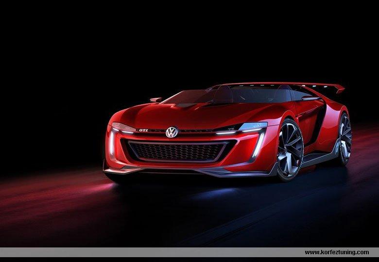 Wolkswagen GTI Roadster Concept 2014
