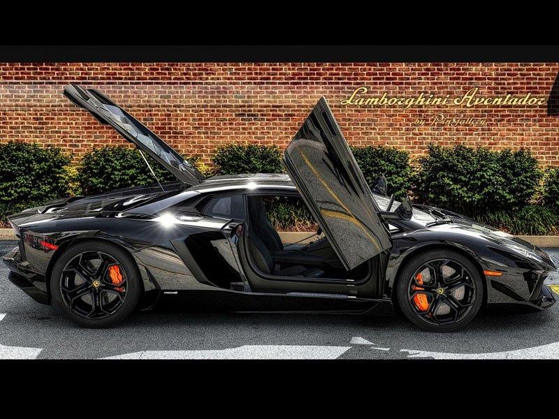 Modifiyeli Lamborghini Aventador wallpaper