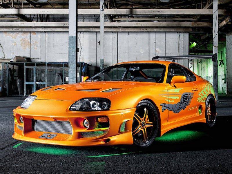 Modifiyeli Toyota Supra wallpaper