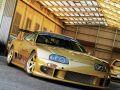 Modifiyeli Toyota Supra Gold