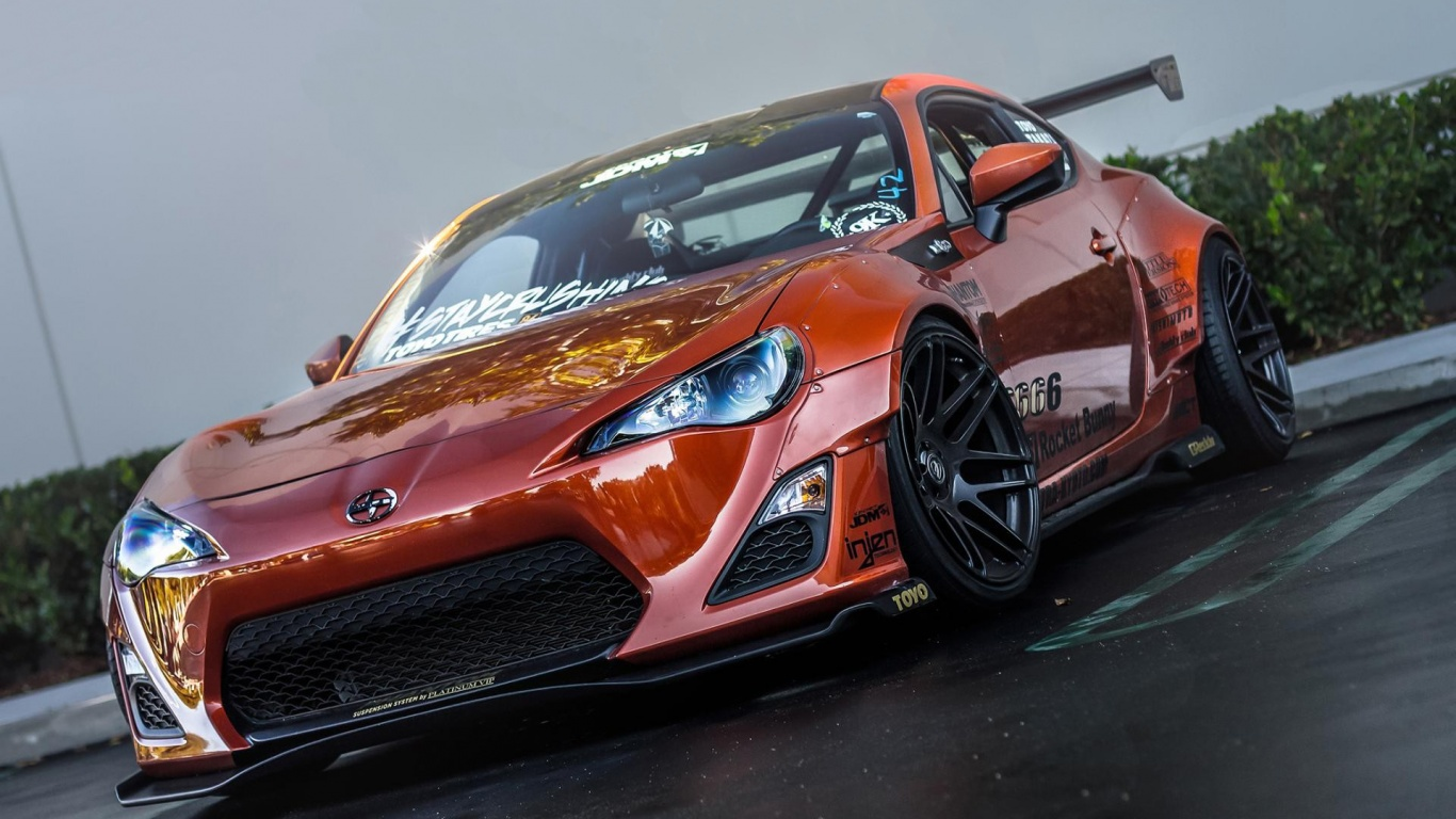 Toyota GT-86 Modifiyeli wallpaper