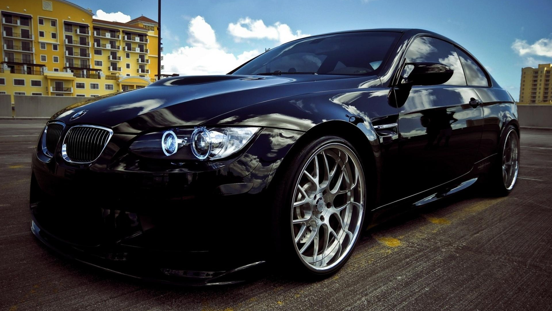 Modifiyeli BMW M3 Siyah,1920x1080 wallpaper,resimleri ...